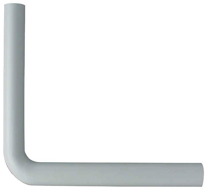 CORNAT Spülrohr, Bogen, 44 mm, 90 °, 390 x 350 mm Länge