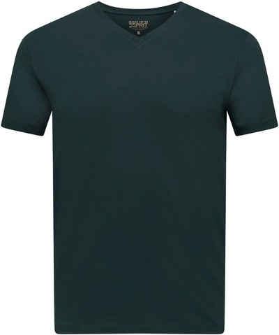 Esprit T-Shirt mit V-Ausschnitt