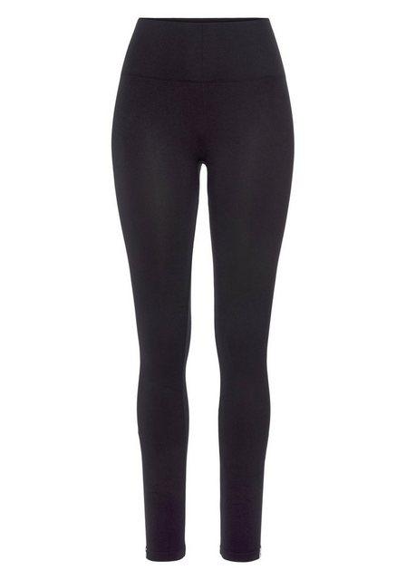 Hosen - Calvin Klein Leggings mit breitem Shapingbund › schwarz  - Onlineshop OTTO