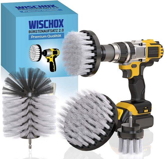 Reinigungsbürste »WISCHOX Premium Bürstenaufsatz Bohrmaschine«, WISCHOX©