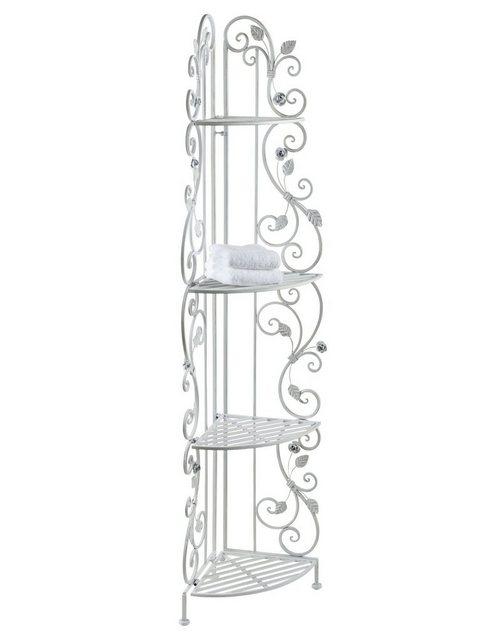 Küchenregale - Metallregal Rose mit romatischer Verzierung  - Onlineshop OTTO