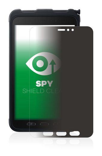 upscreen Schutzfolie »für Samsung Galaxy Tab Active 3«, Folie Schutzfolie Sichtschutz klar anti-spy