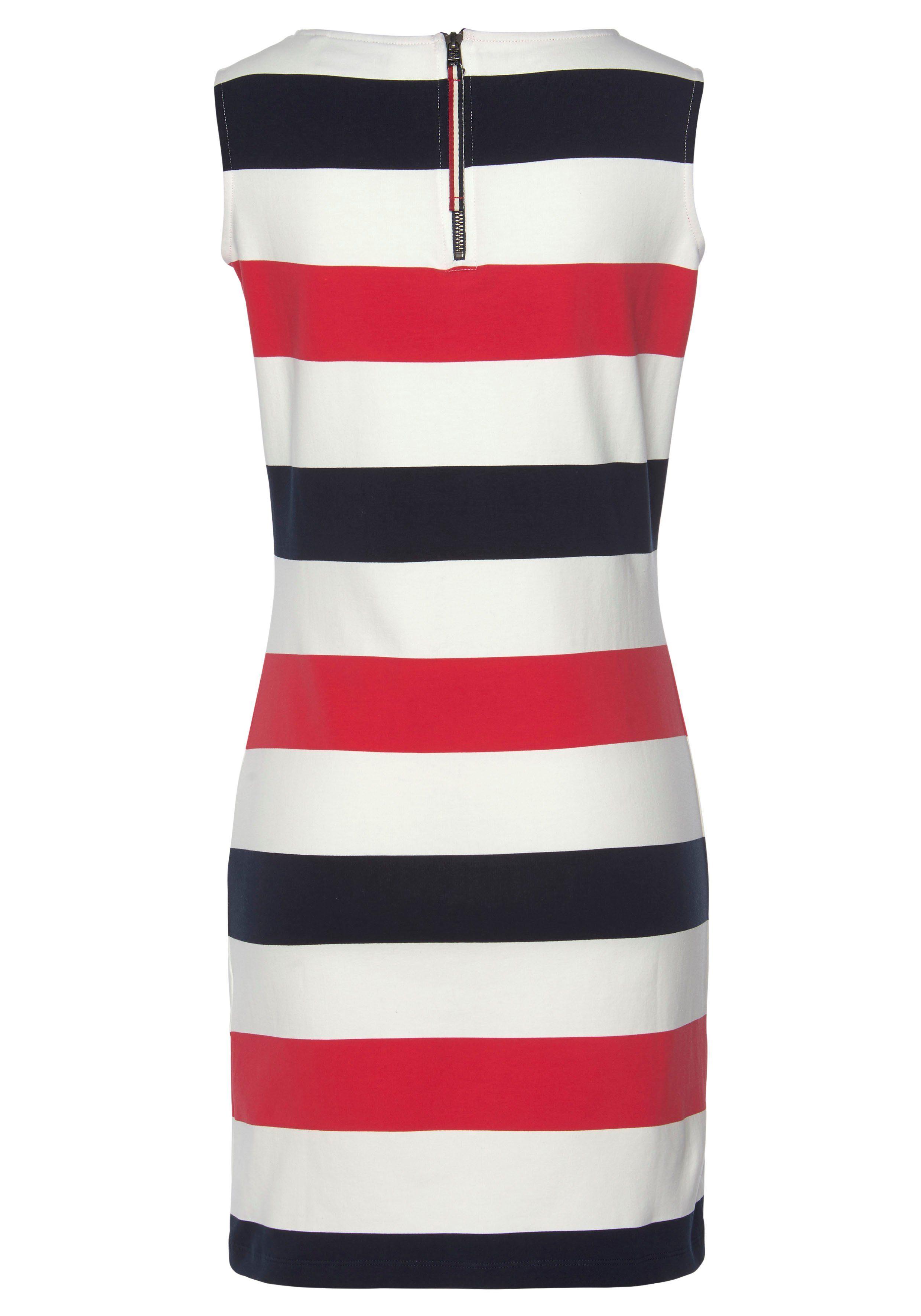 Sea Ranch Sweatkleid Brittany, Blockstreifen-Kleid, ärmellos