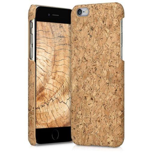 kwmobile Handyhülle, Hülle für Apple iPhone 6 / 6S - Kork Handy Cover Case Schutzhülle