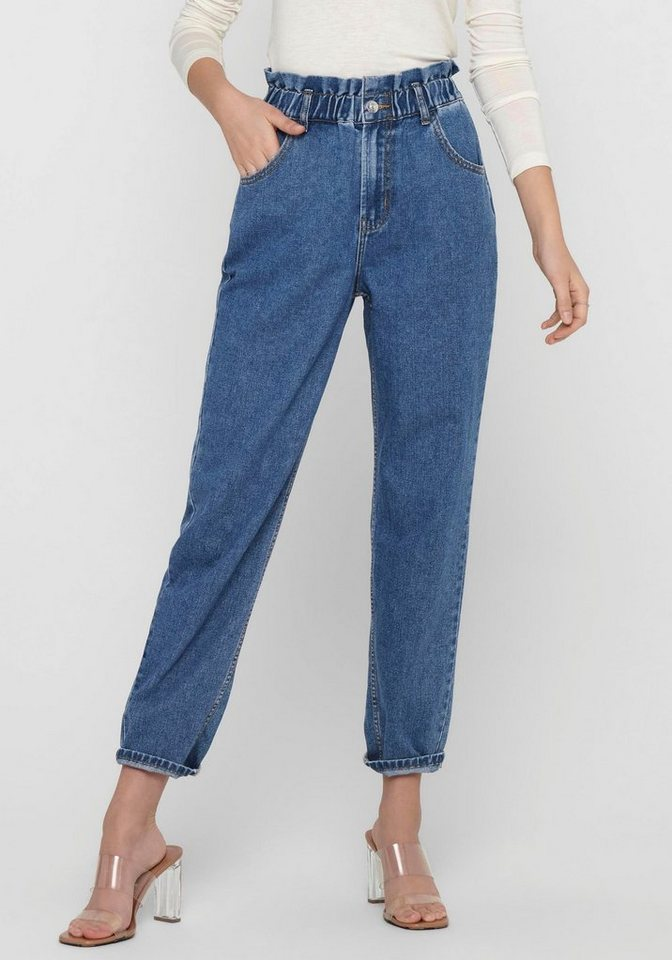 only -  High-waist-Jeans »ONLOVA LIFE«