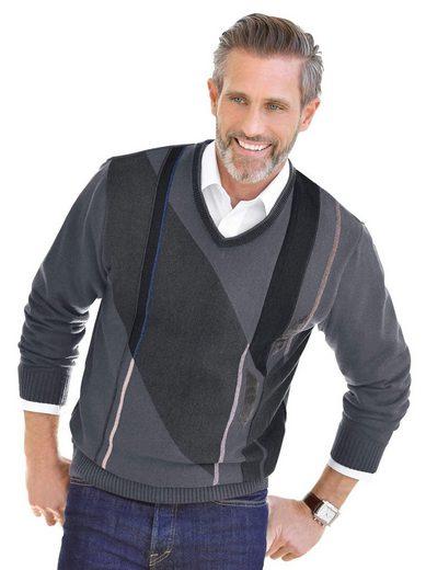 Classic V-Ausschnitt-Pullover