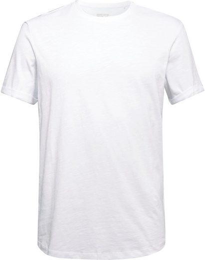 edc by Esprit T-Shirt mit Rundhalsausschnitt