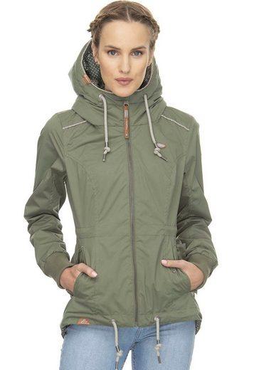 Ragwear Plus Funktionsjacke »DANKA PLUS« Waterproof Fabric
