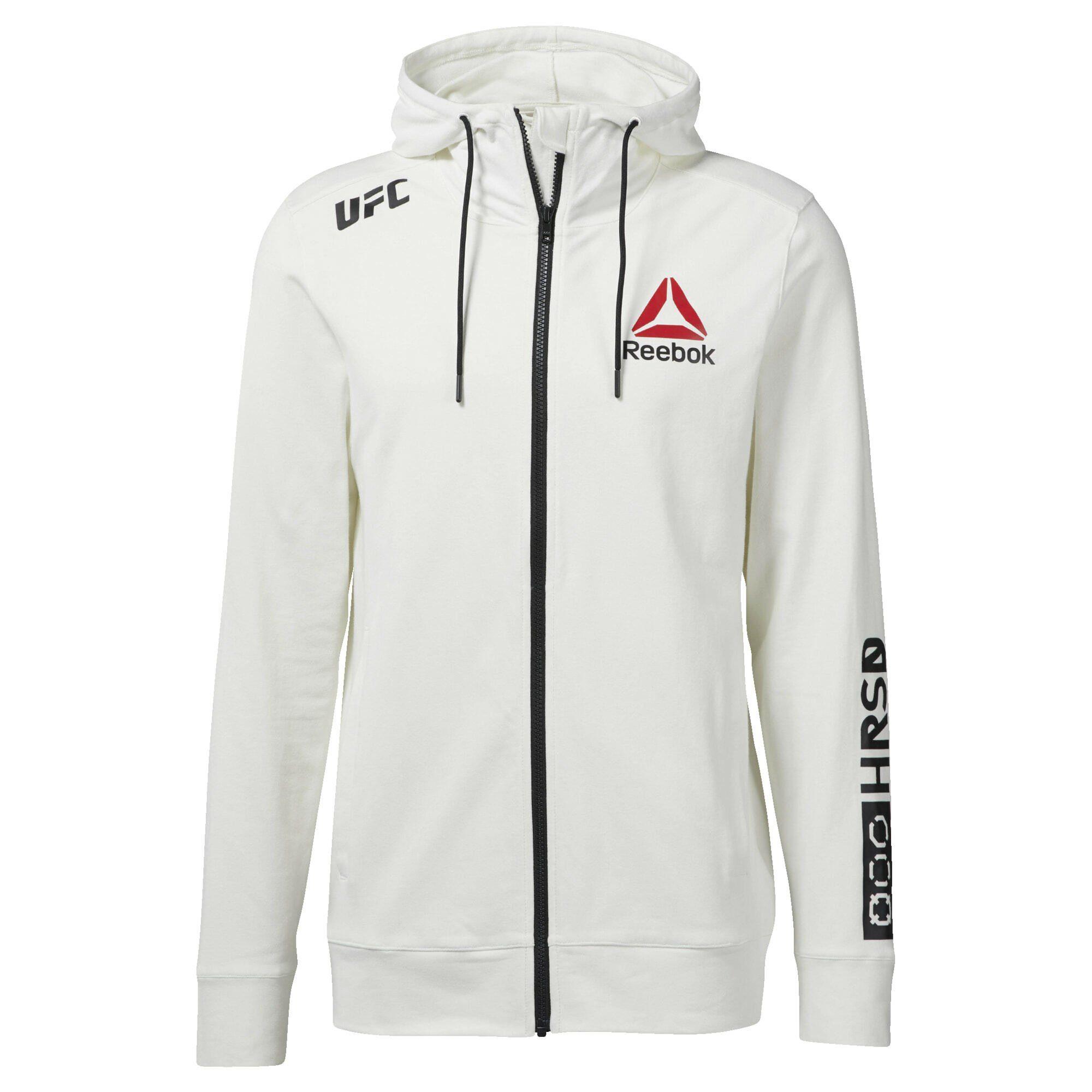 Reebok UFC Walkout Hood Herren Kapuzenpullover Sweatshirt | eBay