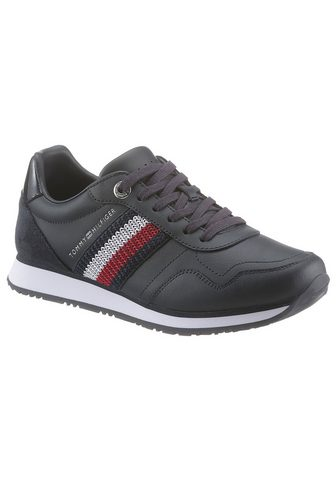 TOMMY HILFIGER »TOMMY LEATHER LOW RUNNER« Sneaker su ...