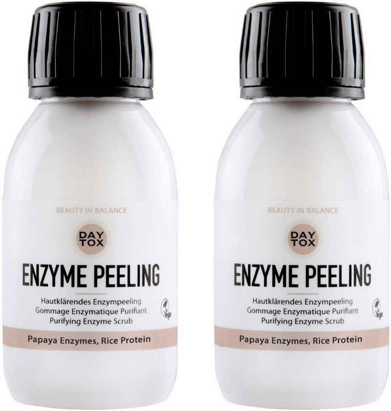 DAYTOX Gesichtspflege-Set »Enzym Peeling«, 2-tlg.