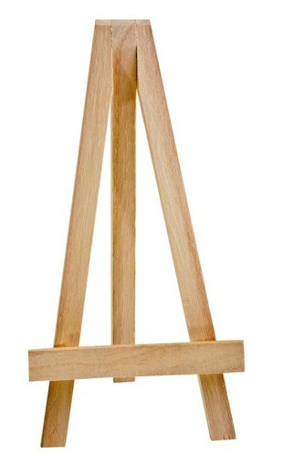 VBS Staffelei, Mini-Deko, 17,5 cm hoch