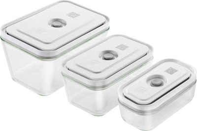 Zwilling Vakuumbehälter »Fresh & Save«, Borosilikatglas, (3-tlg)