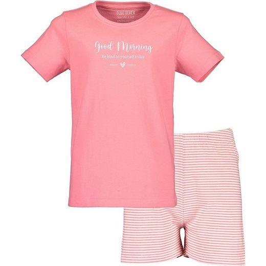 Blue Seven Schlafanzug »Schlafanzug für Mädchen«
