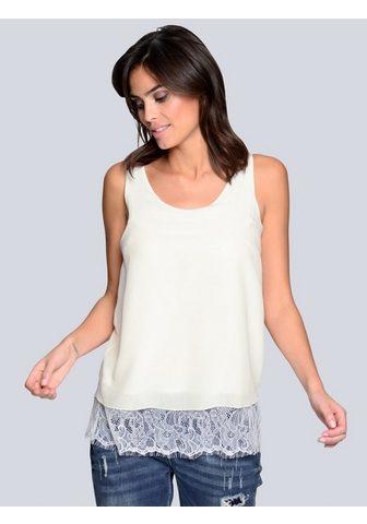 Alba Moda Marškinėliai be rankovių su Blende iš ...