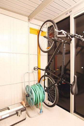 Wolff Fahrradhalter, für Stahlgerätehaus »Yokohama«, »Sapporo«, »Nagoya«, »Osaka«