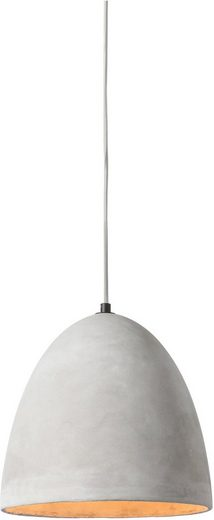 SalesFever Hängeleuchte »Nico«, Lampenschirm aus Beton