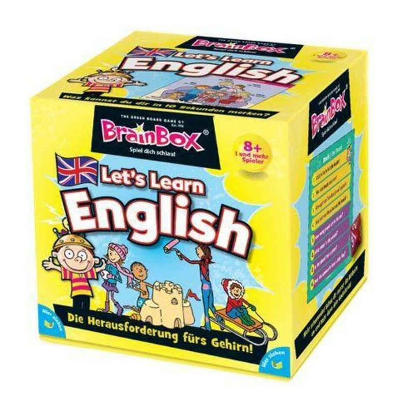 Carletto Spiel, »Brain Box - Let's Learn English«