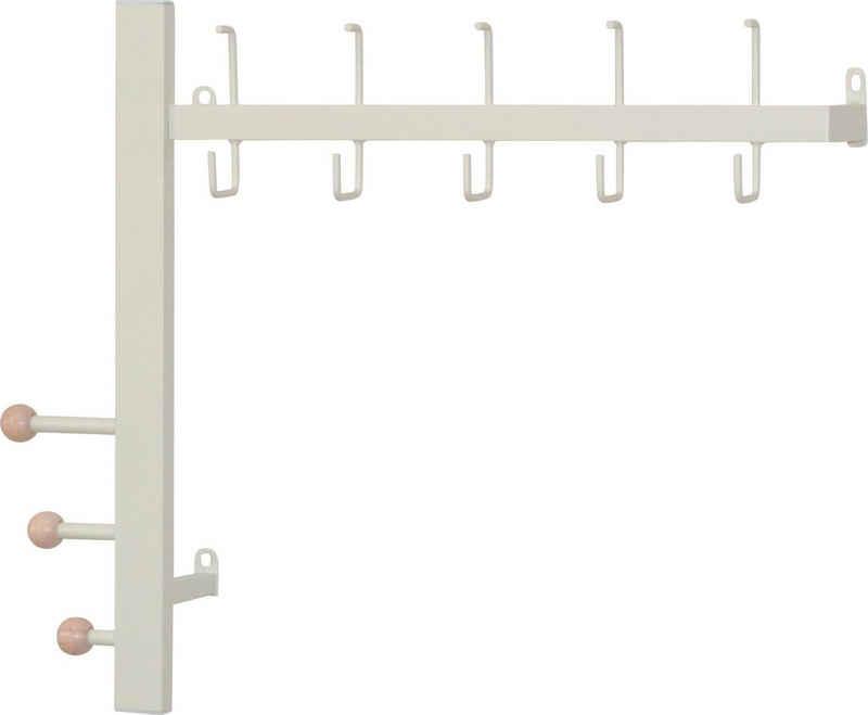 Garderobenleiste, (1 St), aus Metall, Breite 64 cm