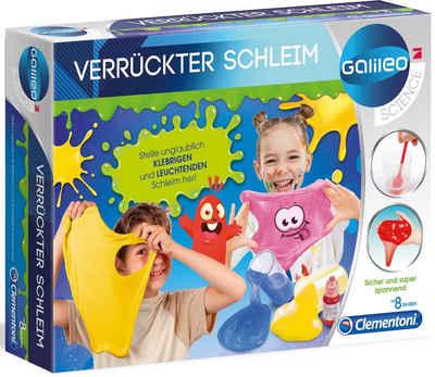 Clementoni® Experimentierkasten »Galileo Verrückter Schleim«, Made in Europe