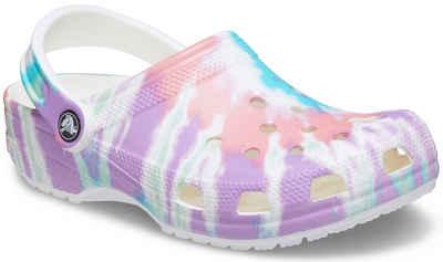 Crocs »Classic Tie Dye Graphic Clog« Clog mit trendigem Batik-Muster