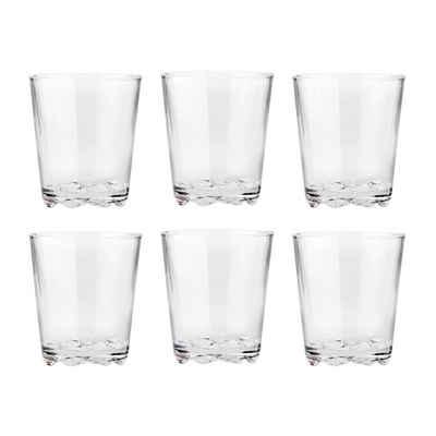 Stelton Glas »Trinkgläser Glacier 6er Set 0,25 l«
