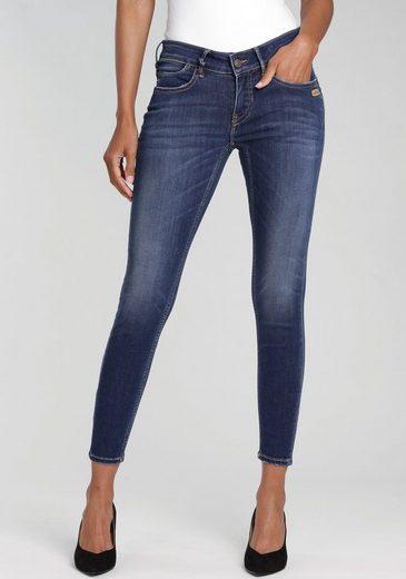 GANG Skinny-fit-Jeans »MISS FAYE« mit authentischer Waschung mit Usedeffekten