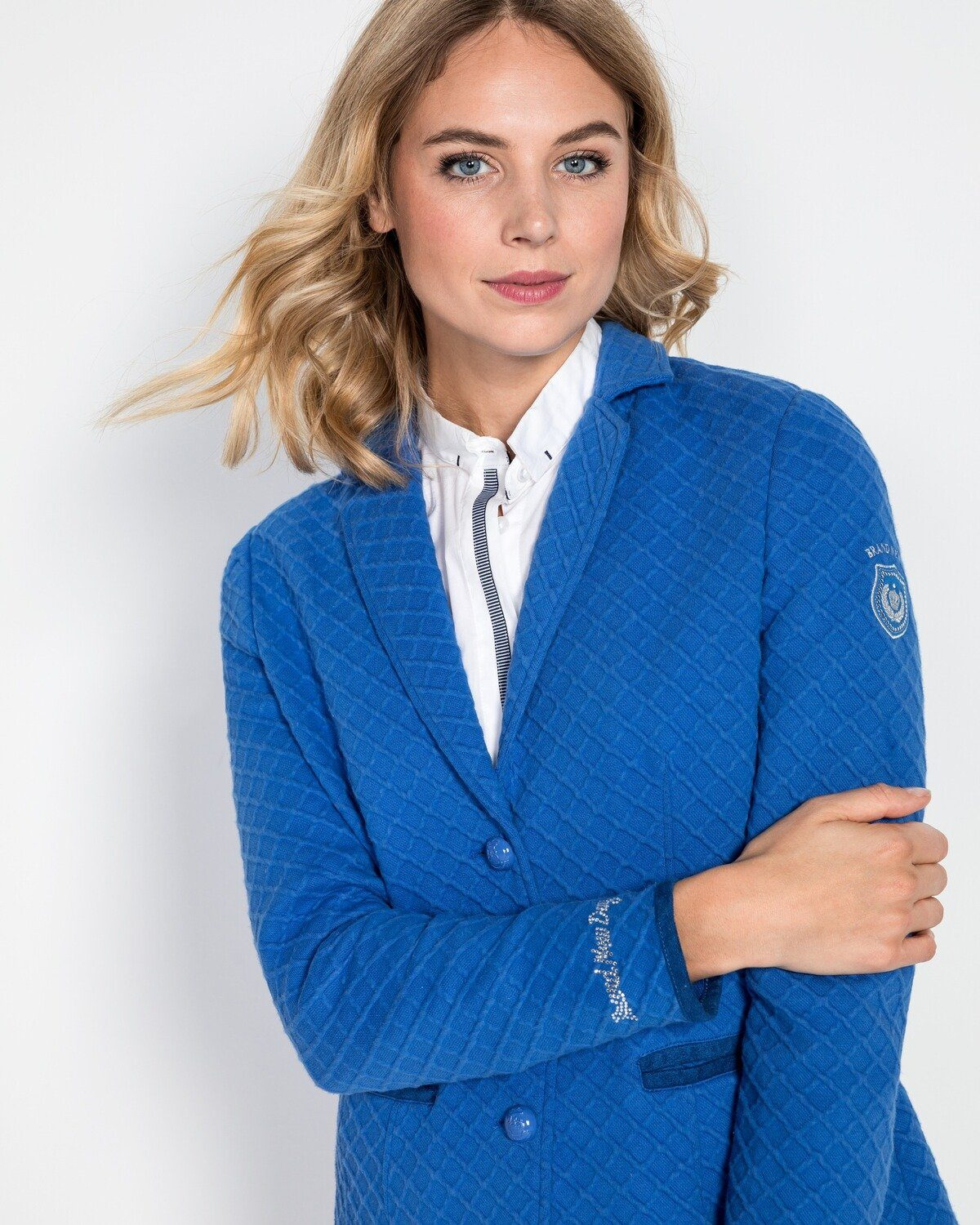 Brand New Day Jerseyblazer mit Struktur, Halbfutter in Single Jersey fUzZSA