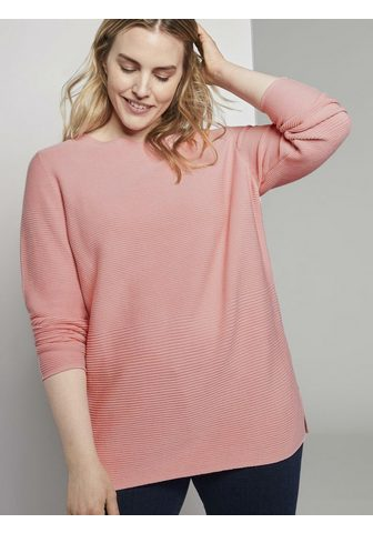 TOM TAILOR MY TRUE ME Schalkragenpullover »Weicher Ottoman M...