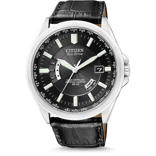 Citizen Funkuhr »Citizen - Eco Drive Funk Herrenuhr CB0010-02E«, Gangreserve: 180 Tage