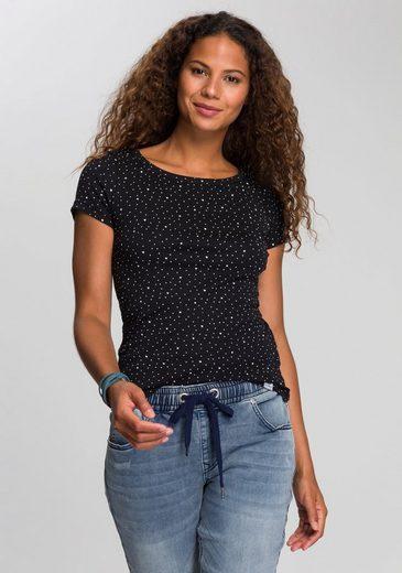 KangaROOS T-Shirt im Allover- oder mit Front-Druck