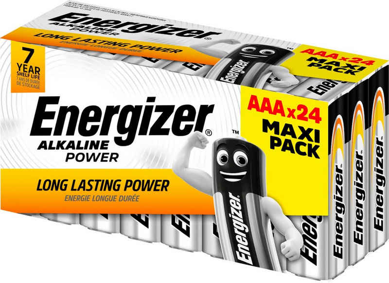 Energizer »Alkaline Power AAA Batterien 24er Box« Batterie