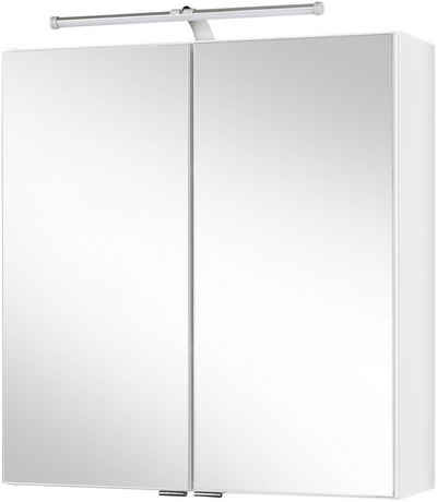 HELD MÖBEL Spiegelschrank »Turin« Breite 60 cm, mit LED-Aufbauleuchte