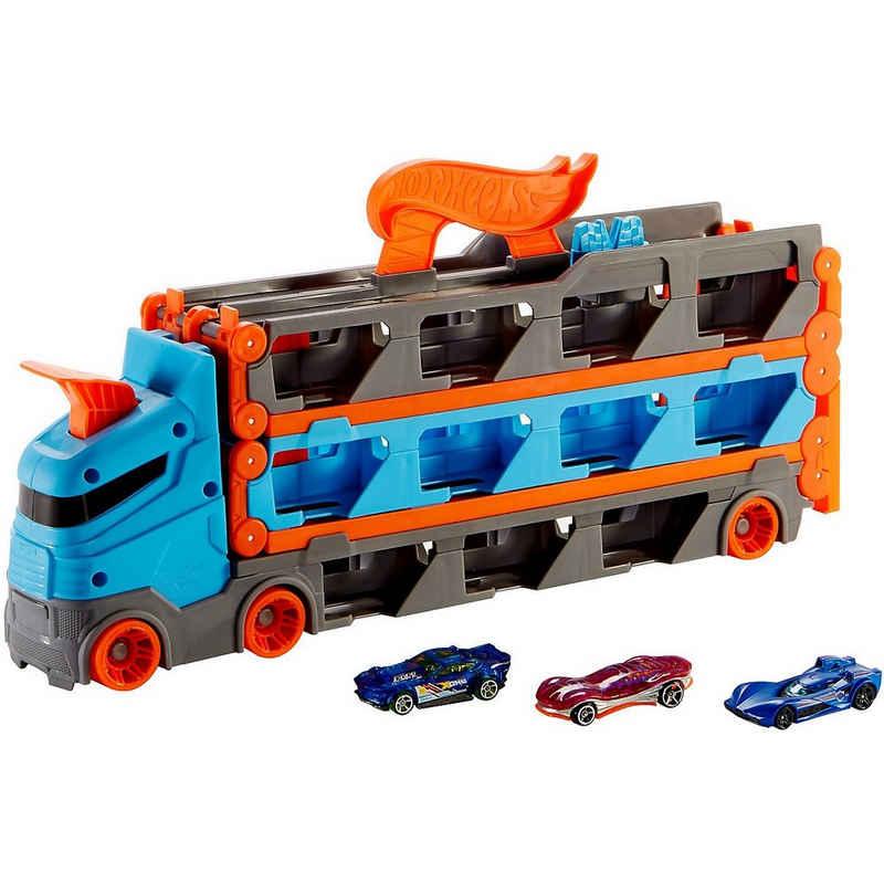 Mattel® Autorennbahn »Hot Wheels 2-in-1 Rennbahn Transporter«