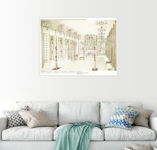 Posterlounge Wandbild, Empfangsraum und Musikzimmer