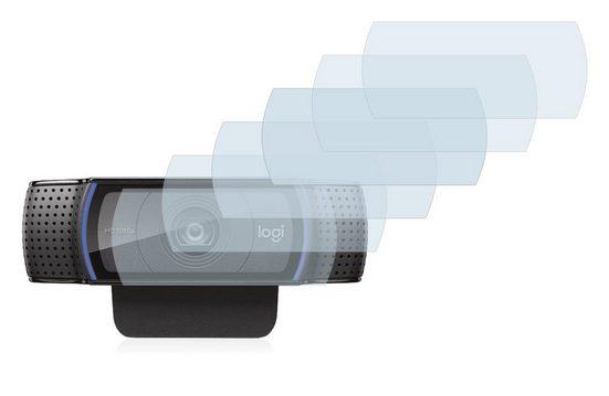 Savvies Schutzfolie »für Logitech C920 HD Pro Webcam«, (6 Stück), Folie Schutzfolie klar