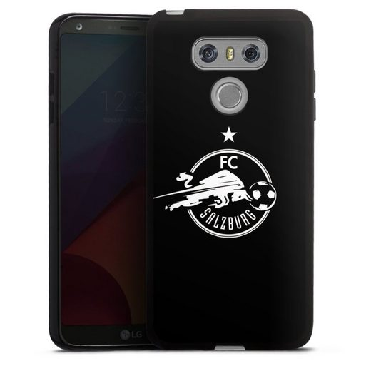 DeinDesign Handyhülle »FC Salzburg - Black« LG G6, Hülle FC Red Bull Salzburg Fußball Fußballspieler