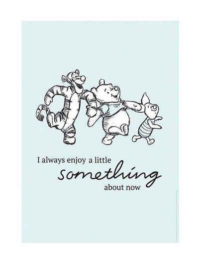 Komar Poster »Winnie Pooh Little Something«, Disney, Höhe: 70cm