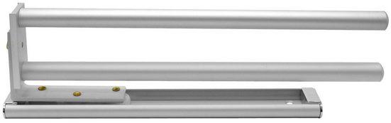 FACKELMANN Handtuchhalter Aluminium 2 armig online