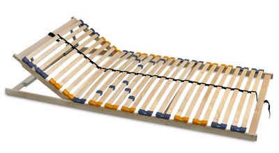 Lattenrost, Coemo, 28 Leisten, Kopfteil manuell verstellbar, Fußteil nicht verstellbar, MULTIRA, preisgünstiger Bausatz