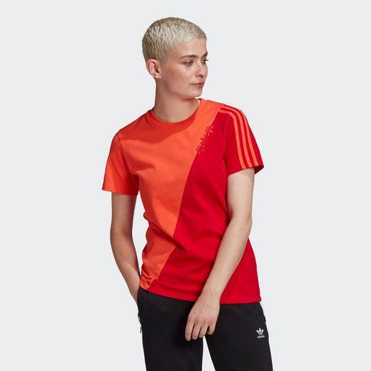 adidas Originals T-Shirt »ADICOLOR SLICED TREFOIL REGULAR«