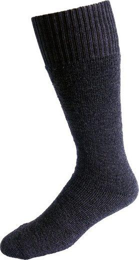 Socken »Vollplüsch« (Set, 2-Paar) grau