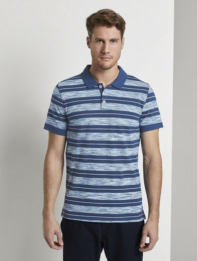 TOM TAILOR Poloshirt »Poloshirt mit Streifenmuster«