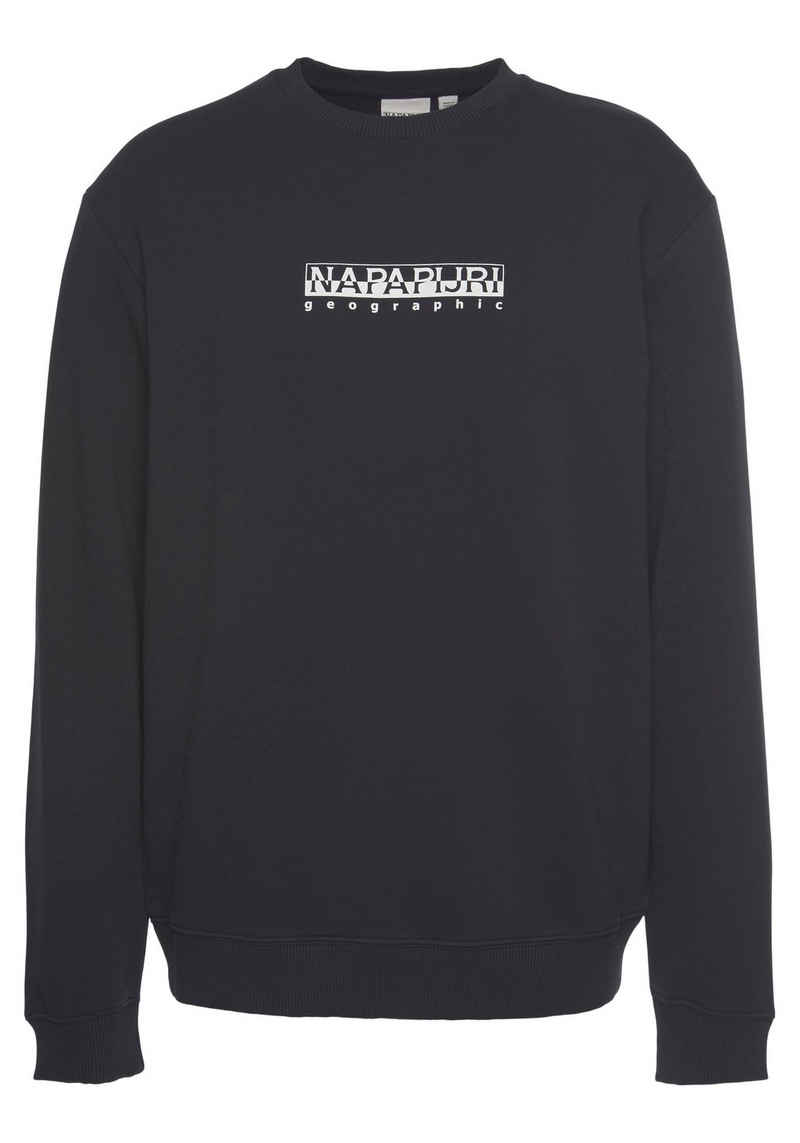 Napapijri Sweatshirt »B-BOX C 1« mit Logoschriftzug