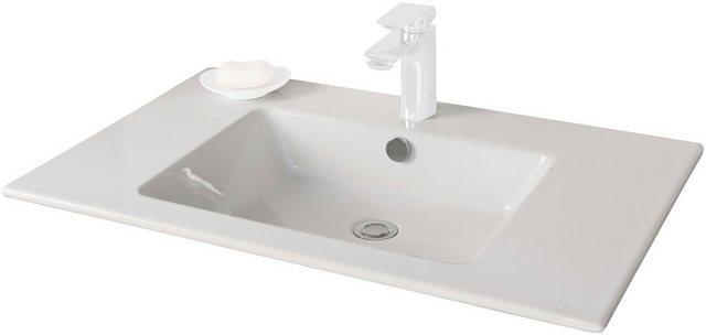 Fackelmann Waschbecken Kera 810 Weiß