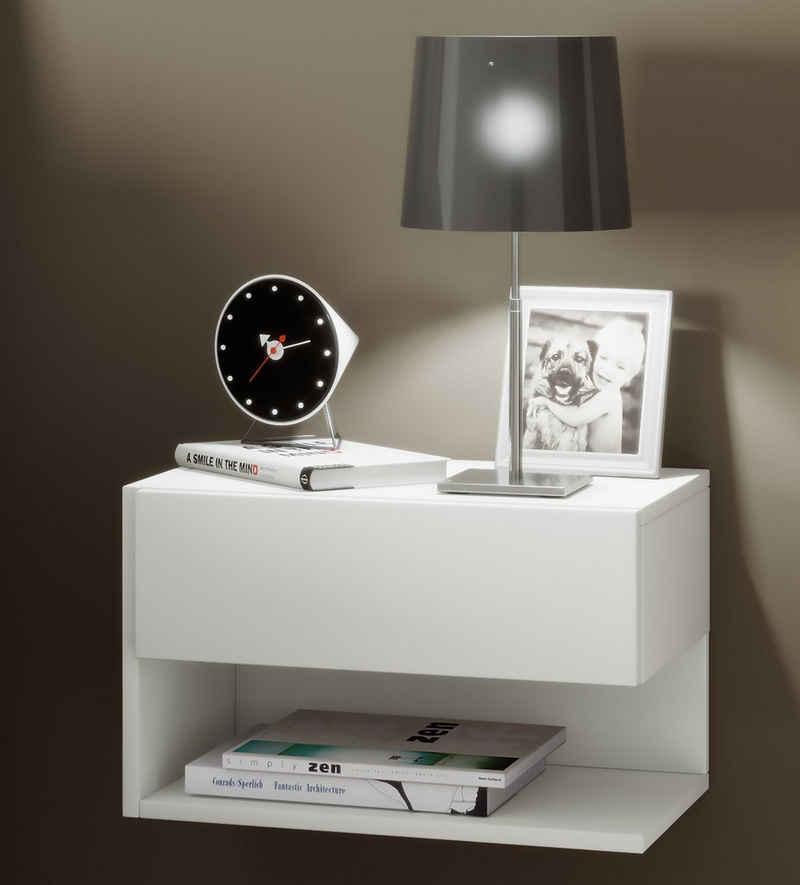 VCM Nachttisch »Holz Wandschublade Nachttisch Dormal«
