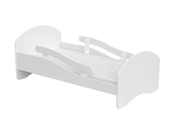 Clamaro Kinderbett (Clamaro 'Leo' Kinderbett Jugendbett mit verstellbarem Rausfallschutz (beidseitig) und Kantenschutzleisten, Bett Set inkl. Lattenrost und Matratze)