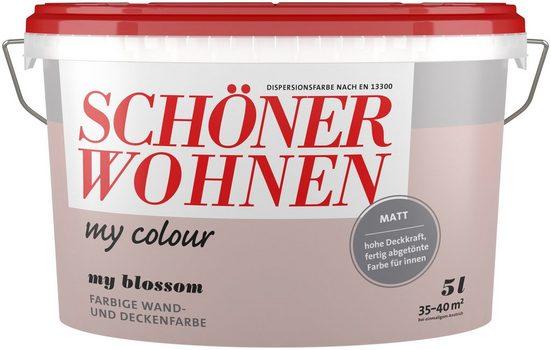 SCHÖNER WOHNEN FARBE Wand- und Deckenfarbe »my Colour - my blossom«, matt, 5 l