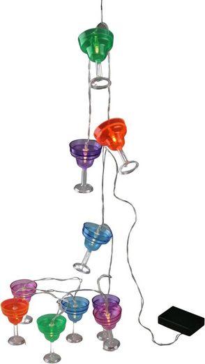 AM Design LED-Lichterkette »Gläser«