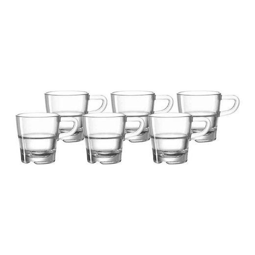 LEONARDO Espressoglas »SENSO Espressotasse 40ml 6er Set« (6-tlg)